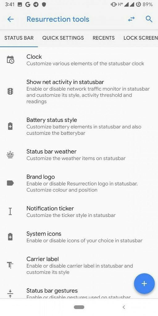 Resurrection Remix 7 based on Android Pie is here for the OnePlus 3